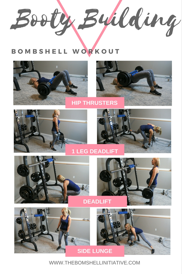 Booty Building Workout from thebombshellinitiative.com