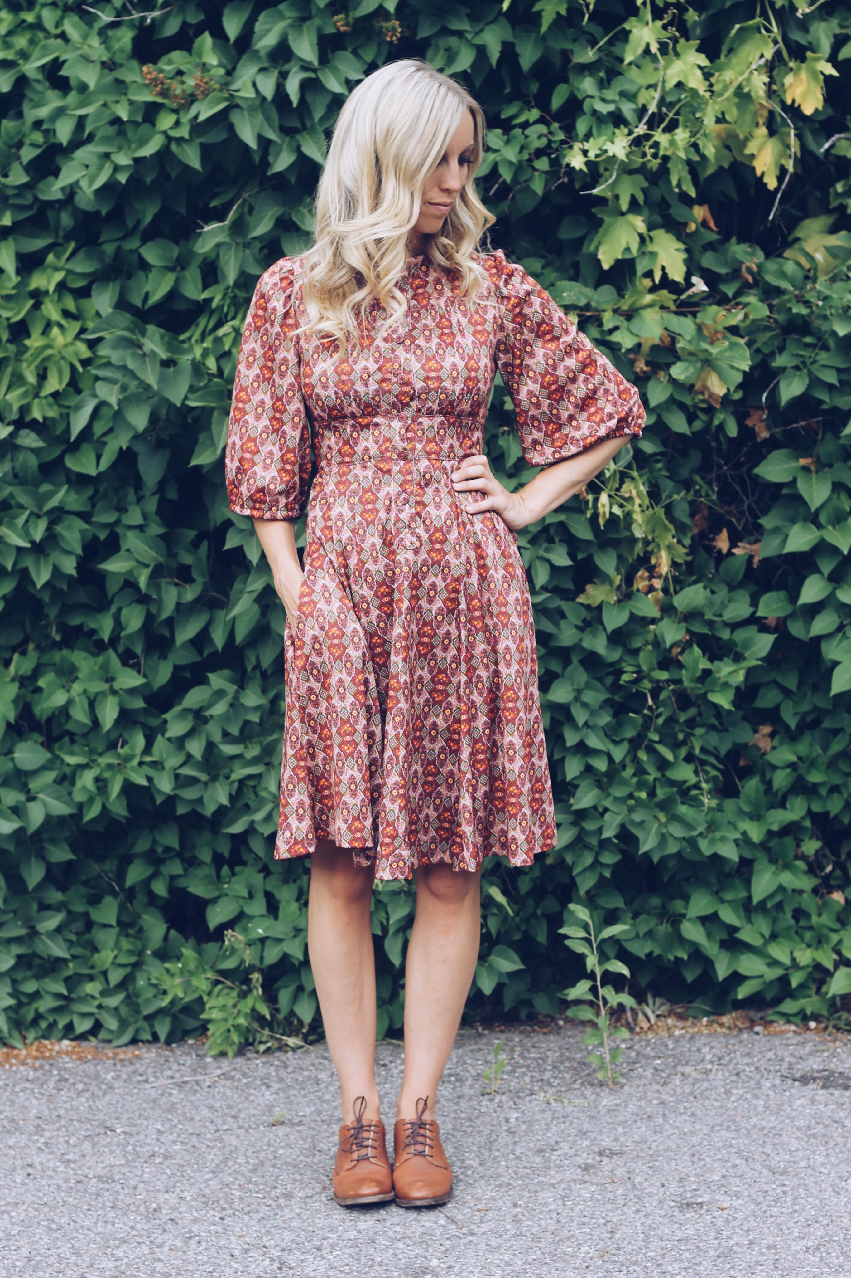 brandi walker vintage dress