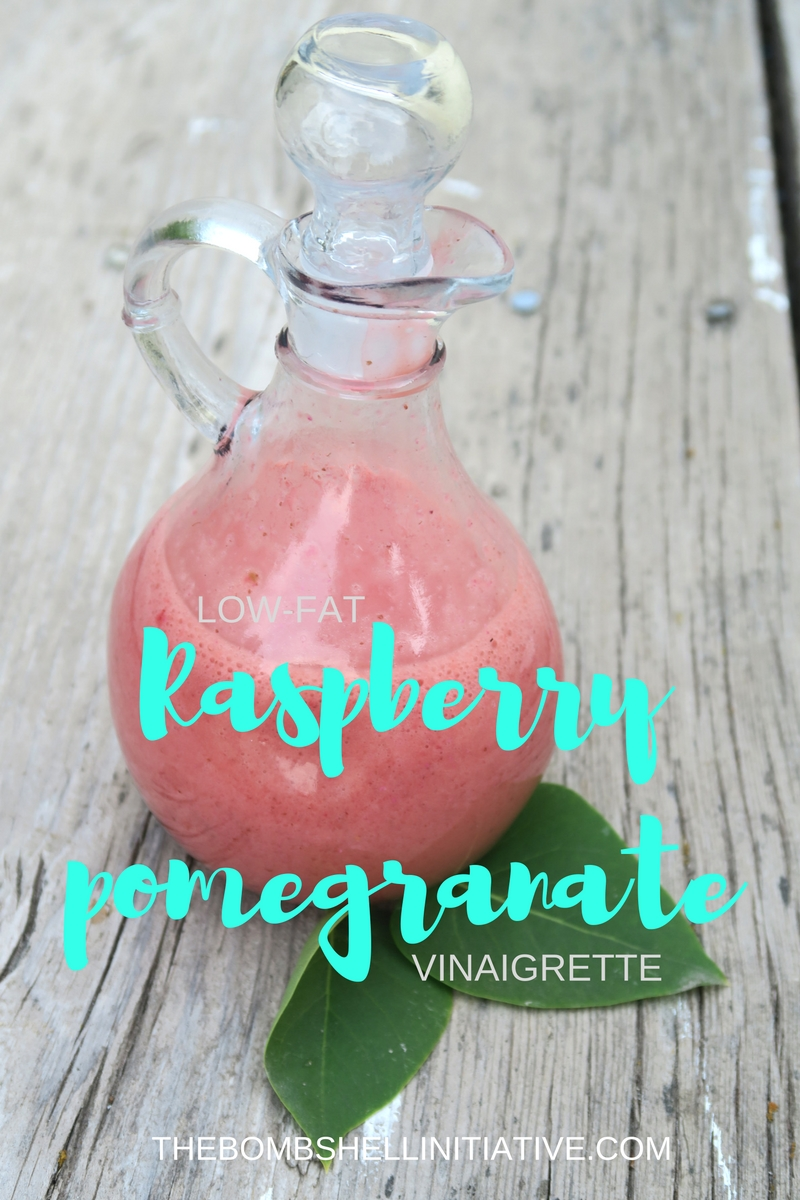 Raspberry pomegranate dressing