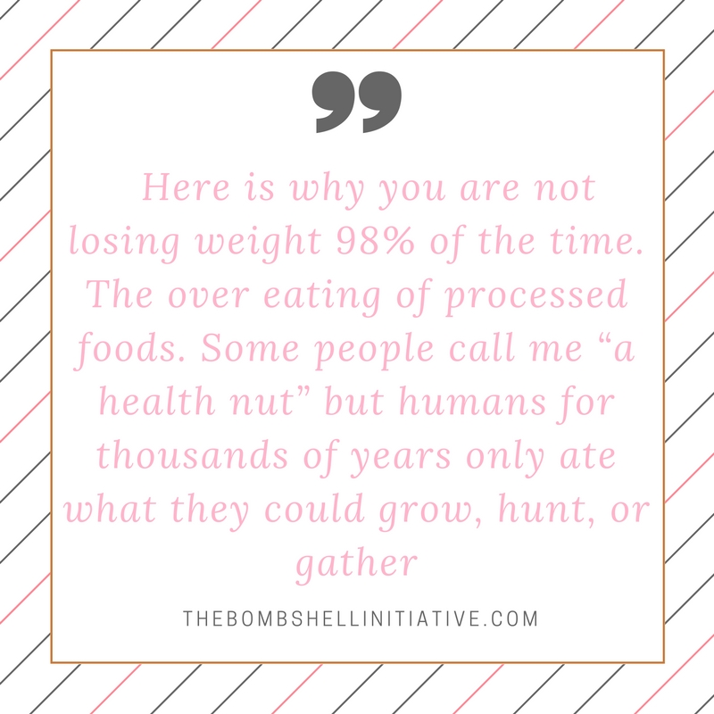 not losing weight quote by thebombshellinitiative