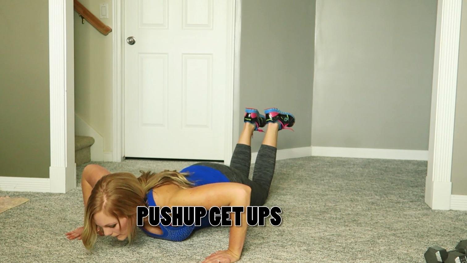 pushup get up