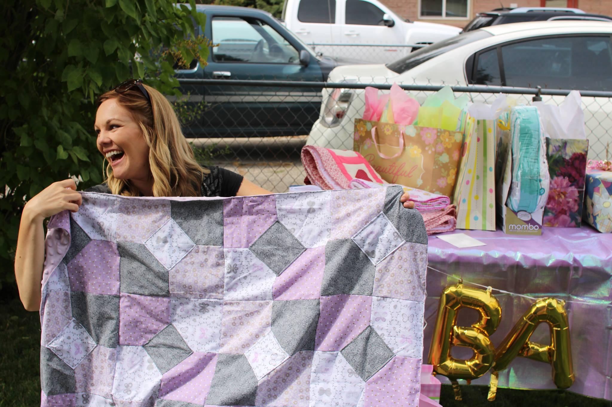 baby shower blanket