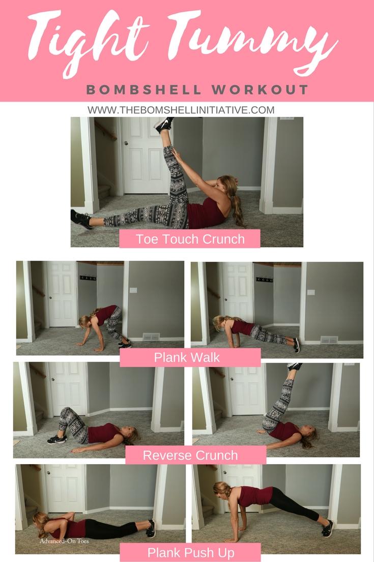 tight tummy bombshell workout
