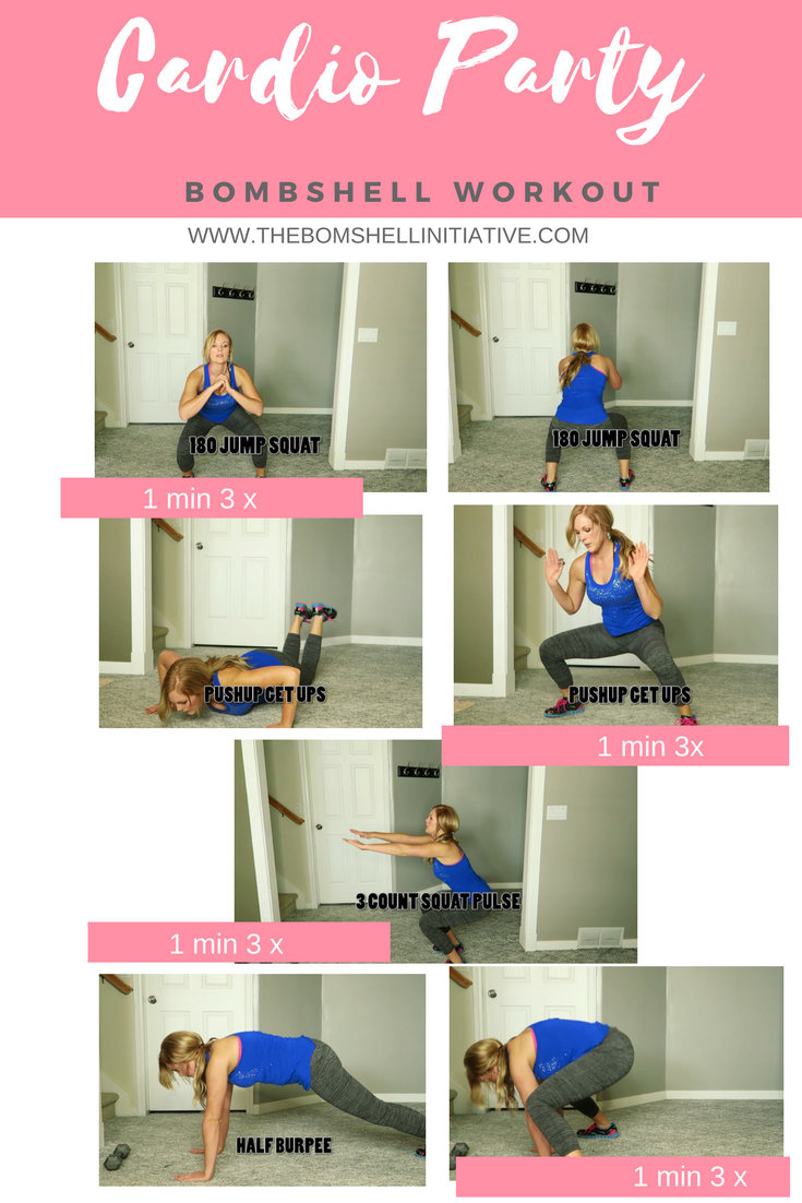 cardio-party bombshell workout
